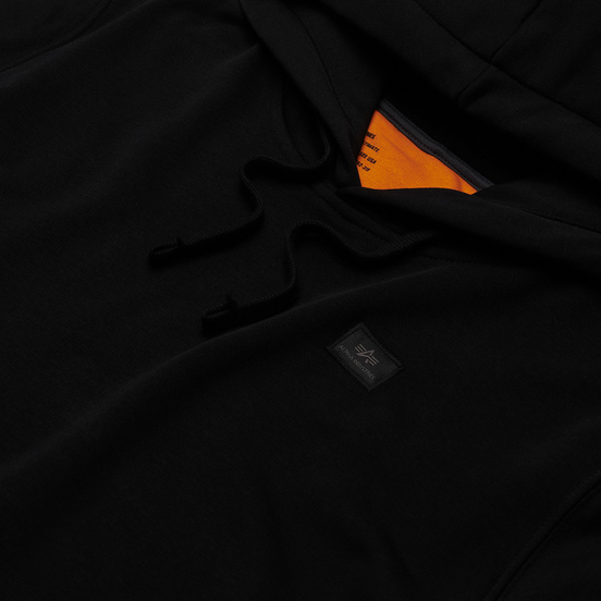 Мужская толстовка Alpha Industries X-Fit Hoody Black