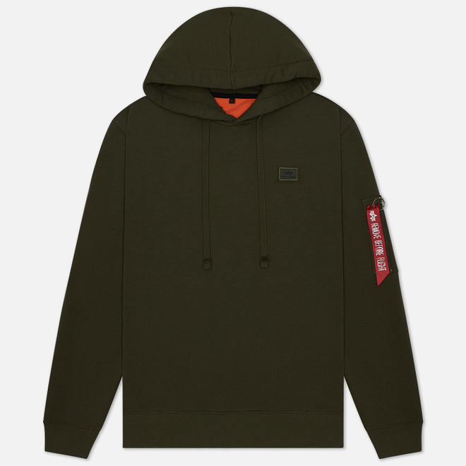 Мужская толстовка Alpha Industries X-Fit Hoody Dark Green