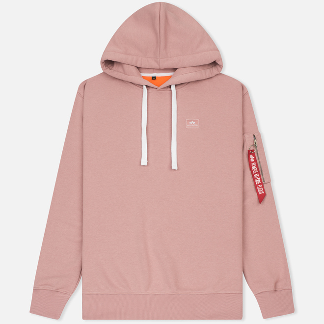 Мужская толстовка Alpha Industries X-Fit Hoody Pink