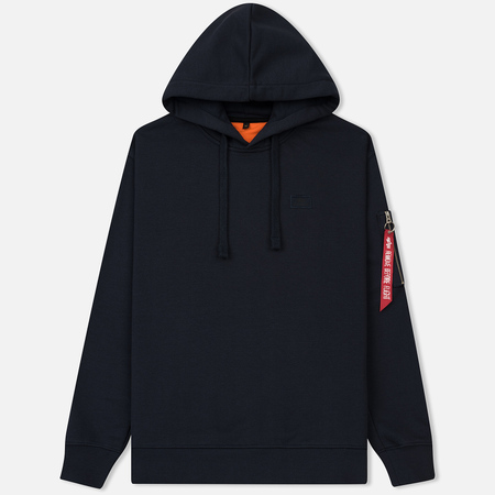Мужская толстовка Alpha Industries X-Fit Hoody Replica Blue