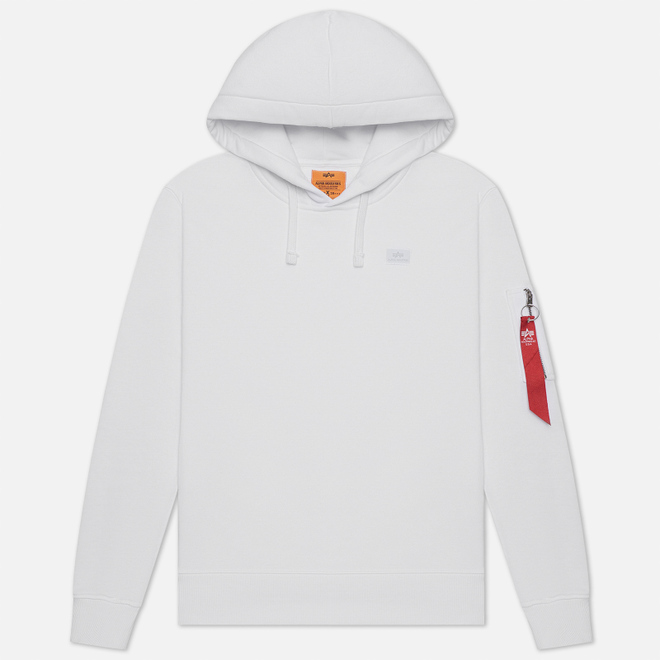 Мужская толстовка Alpha Industries X-Fit Hoody White