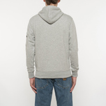 Мужская толстовка Alpha Industries X-Fit Hoody Grey Heather фото- 6