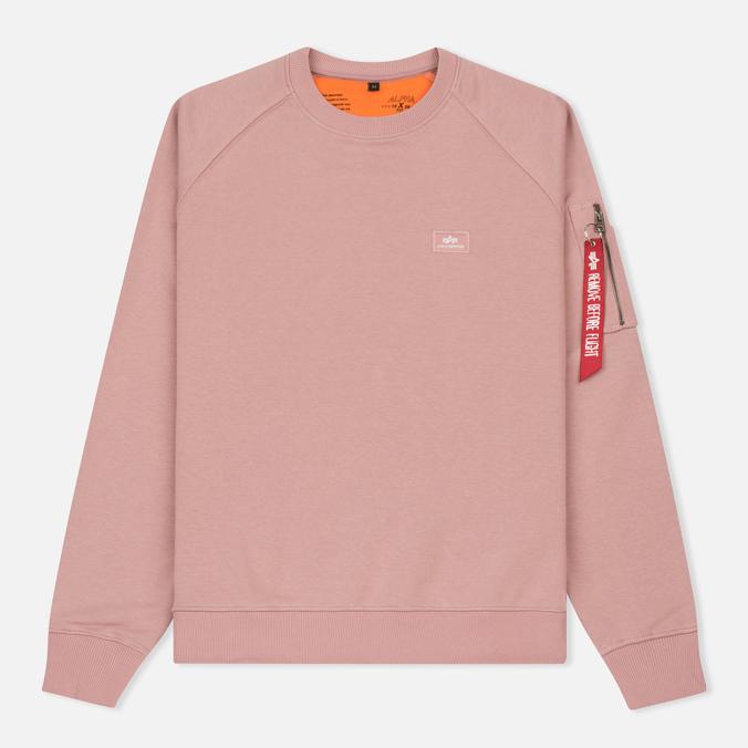 Мужская толстовка Alpha Industries X-Fit Pink