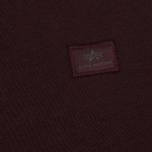 Мужская толстовка Alpha Industries X-Fit Wine Red фото- 2