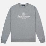 Мужская толстовка Aquascutum Henry Crew Neck Logo Grey Marl фото- 0