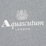 Мужская толстовка Aquascutum Henry Crew Neck Logo Grey Marl фото- 2