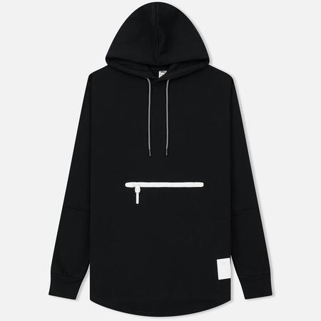 Мужская толстовка ASICS Premium Fleece Hoodie Black/White