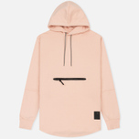 Мужская толстовка ASICS Premium Fleece Hoodie Evening Sand фото- 0