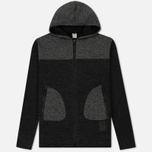Мужская толстовка ASICS Premium Knit Hoodie Black фото- 0