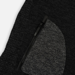 Мужская толстовка ASICS Premium Knit Hoodie Black фото- 3