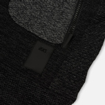 Мужская толстовка ASICS Premium Knit Hoodie Black фото- 4