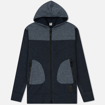 Мужская толстовка ASICS Premium Knit Hoodie Navy