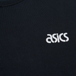 Мужская толстовка ASICS Crewneck Black/Black фото- 2