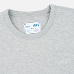 Мужская толстовка ASICS Crewneck Grey/Grey фото- 1