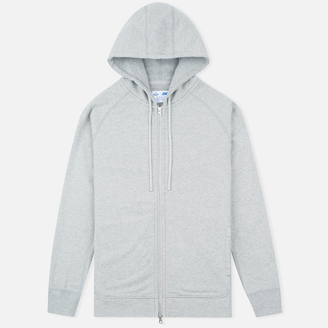 Мужская толстовка ASICS x Reigning Champ Full Zip Grey/Grey