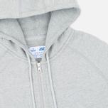 Мужская толстовка ASICS x Reigning Champ Full Zip Grey/Grey фото- 1