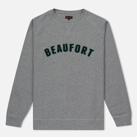 Мужская толстовка Barbour Affliate Crew Neck Grey Marl
