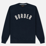 Мужская толстовка Barbour Heritage Millport Crew Neck Navy фото- 0