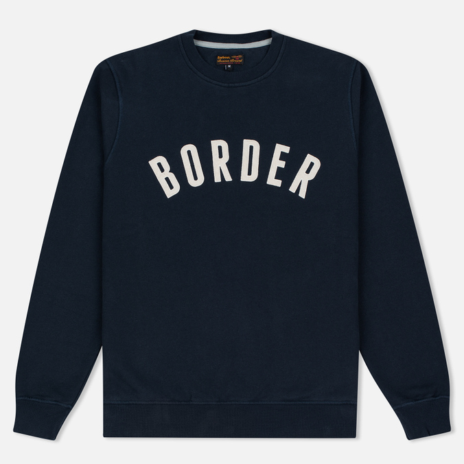Мужская толстовка Barbour Heritage Millport Crew Neck Navy