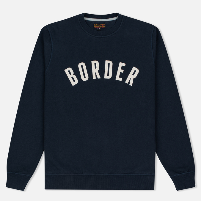 Barbour Heritage Millport Crew Neck Men`s Sweatshirt Navy