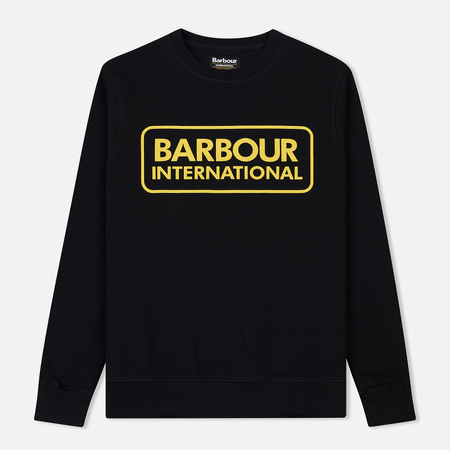 Мужская толстовка Barbour International Large Logo Black