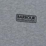 Мужская толстовка Barbour International Small Logo Grey Marl фото- 2