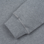 Мужская толстовка Barbour International Small Logo Grey Marl фото- 3
