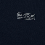 Мужская толстовка Barbour International Small Logo Navy фото- 2