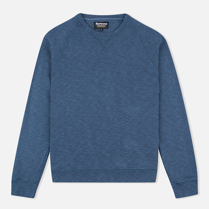 Мужская толстовка Barbour International Winton Crew Neck Chambray Blue