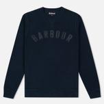 Мужская толстовка Barbour Logo Navy фото- 0