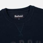Мужская толстовка Barbour Logo Navy фото- 1