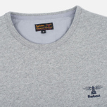 Мужская толстовка Barbour Philip Crew Neck Storm Grey фото- 1