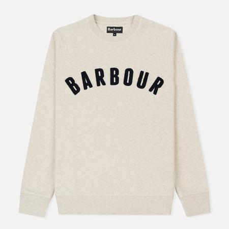 Мужская толстовка Barbour Prep Logo Crew Ecru Marl