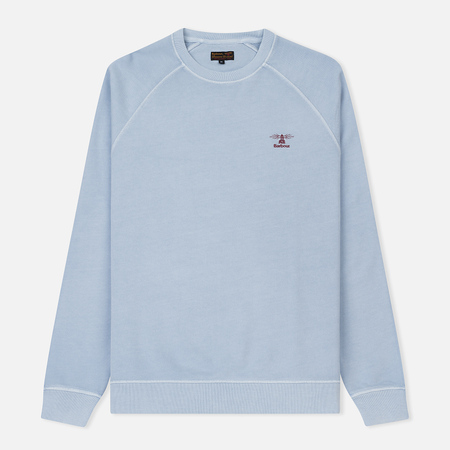 Мужская толстовка Barbour Pike Crew Sweat Light Blue