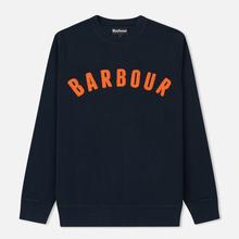 Мужская толстовка Barbour Prep Logo Crew Navy фото- 0