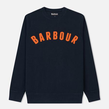 Мужская толстовка Barbour Prep Logo Crew Navy