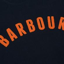Мужская толстовка Barbour Prep Logo Crew Navy фото- 2