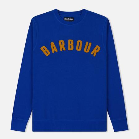 Мужская толстовка Barbour Prep Logo Crew Bright Blue