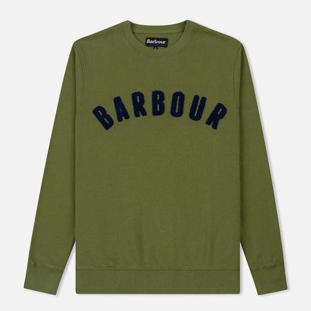 Мужская толстовка Barbour Prep Logo Crew Burnt Olive