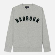 Мужская толстовка Barbour Prep Logo Crew Grey Marl фото- 0