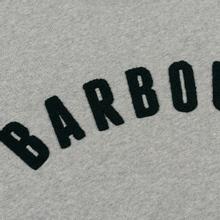 Мужская толстовка Barbour Prep Logo Crew Grey Marl фото- 2