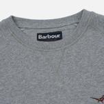 Мужская толстовка Barbour Simms Crew Grey Marl фото- 1