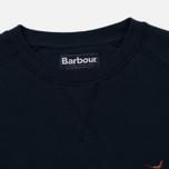 Мужская толстовка Barbour Simms Crew Navy фото- 1