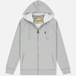 Мужская толстовка Barbour x Steve McQueen Hoody Full Zip Grey Marl фото- 0