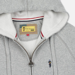 Мужская толстовка Barbour x Steve McQueen Hoody Full Zip Grey Marl фото- 1