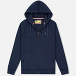 Мужская толстовка Barbour x Steve McQueen Hoody Full Zip New Navy фото- 0