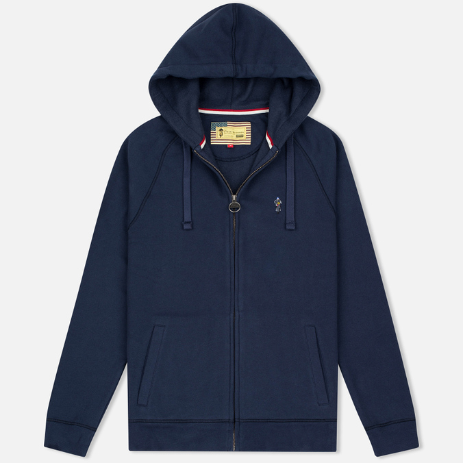Barbour x Steve McQueen Hoody Full Zip New Men's Hoody Navy