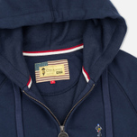 Мужская толстовка Barbour x Steve McQueen Hoody Full Zip New Navy фото- 1