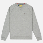 Мужская толстовка Barbour x Steve McQueen International Crew Neck Grey Marl фото- 0