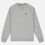 Barbour x Steve McQueen International Crew Neck Men`s Sweatshirt Grey Marl photo- 0